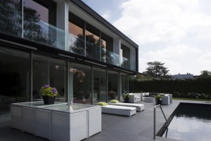 terrace and cladding slate