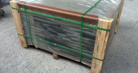 Carton and stretch slate packing