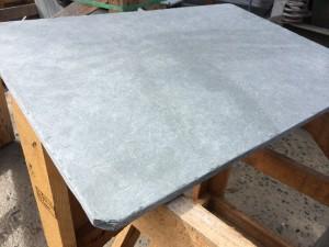 Grey slate tumbled anticato