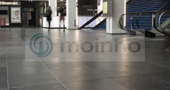 office tiles slate high frequency traffic