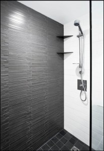 special mosaic slate bathroom