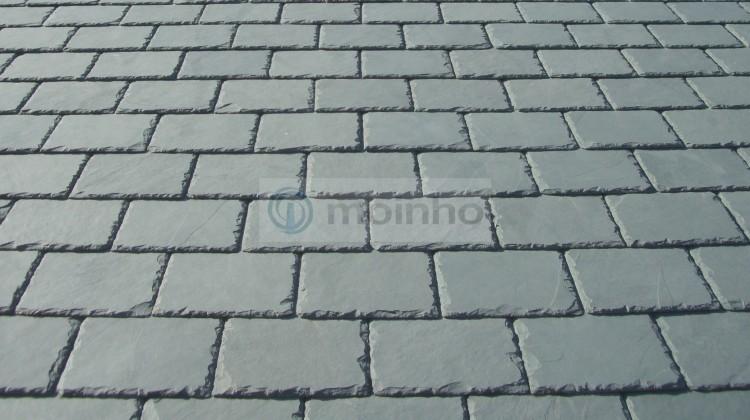 Grey slate Brazil roofing Moinho