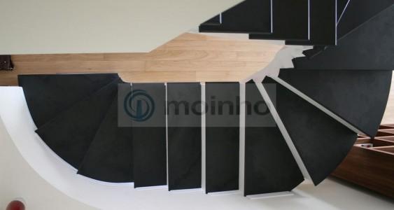 Stairs slate black cut-to-szie