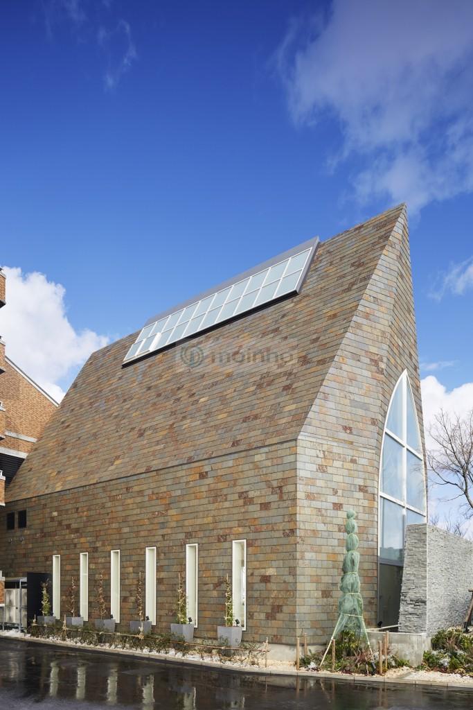 Church slate roofing brazilian multicolour