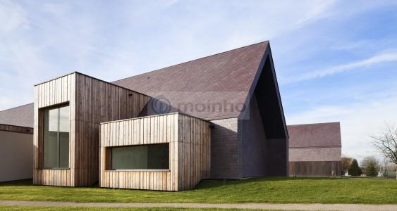 Slate roofing france