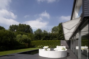 Swimming pool terrace slate