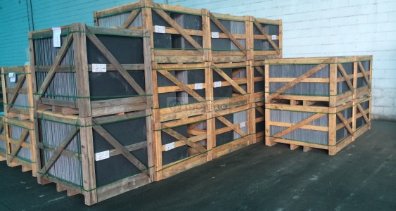 various sizes slate crates