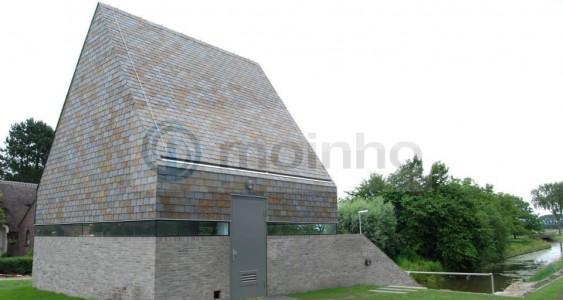 Brazilian Oxyde slate roofing