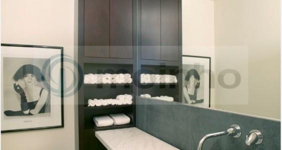 grey slate brazilian bathroom
