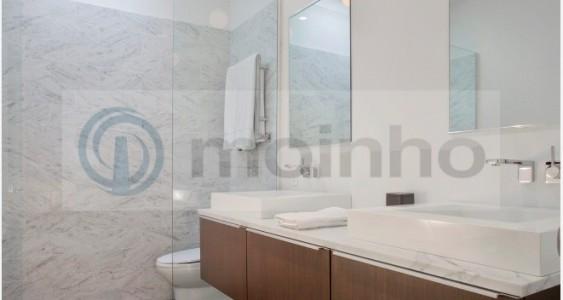 Bathroom black brazil slate
